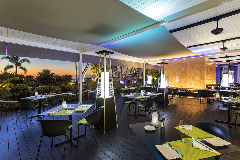 outdoor restaurants ヌメア ホテル château royal nc